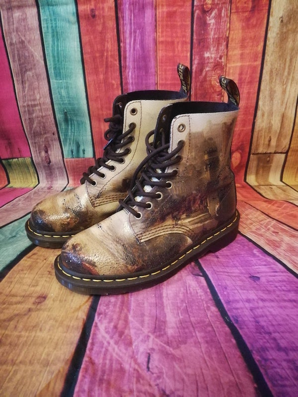 JMW TURNER CARTHAGINIAN painting dr.martens